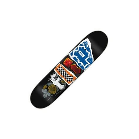 875 Skateboard Deck Uk by Flip Skateboards Flip Team Patchwork Deck 7 875