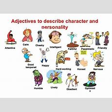 How To Describe Someone's Character And Personality In English  Esl Buzz
