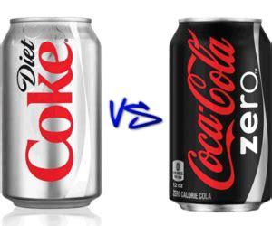Diet Coke vs Coke Zero - Whats the Difference?