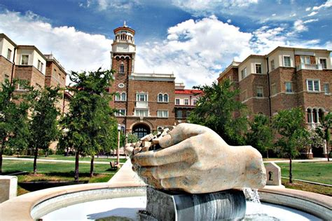 One Of Our Favorite Public Art Pieces On The Texas Tech