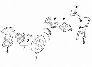 Gmc Terrain Abs Wheel Speed Sensor  Front   Right  Brake
