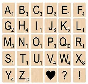 instant download wood letter tiles by simplysweetdigitals With photo letter art tiles