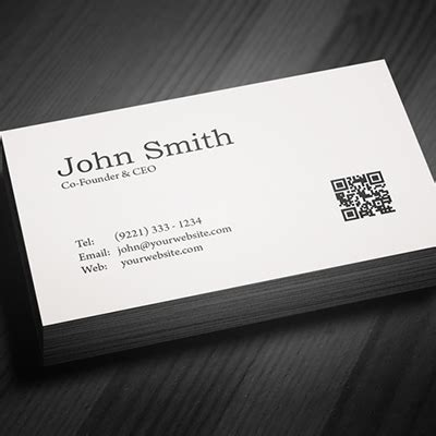 sided business cards standard business cards  sided