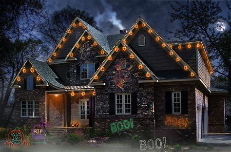 lights  halloween  frightfully good idea  fuss