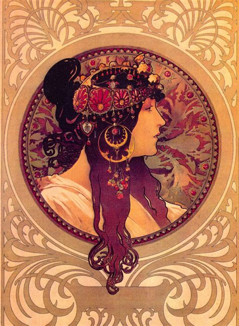 Alfons Mucha the daily muse alfons mucha 1860 to 1939