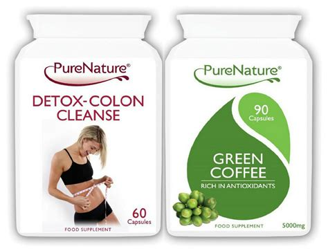 What does the liver do? 90 Green Coffee Bean Extract 15000mg Daily + 60 Detox Colon Cleanse Diet Pills | eBay