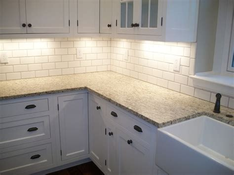 White Kitchen Backsplashes by White Tile Kitchen Backsplashes Shade Of White Subway