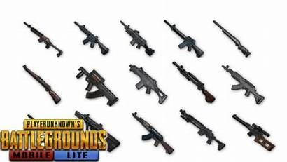 Pubg Guns Gun Mobile Clipart Lite Weapons