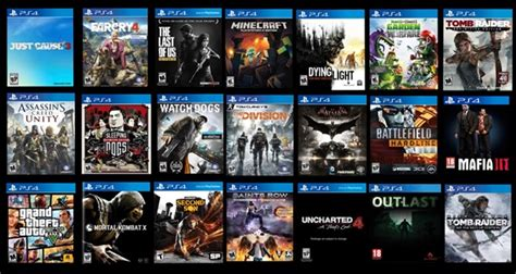 Top 10 Best Ps4 Games  The Ultimate Exclusive List