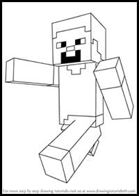 draw minecraft video game characters drawing tutorials cartoons   draw