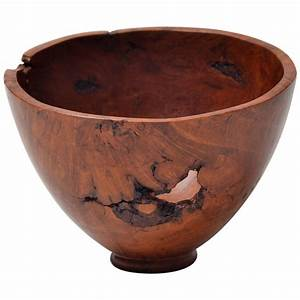 Decorative, Wooden, Bowl, By, Dustin, Coates, For, Sale, At, 1stdibs