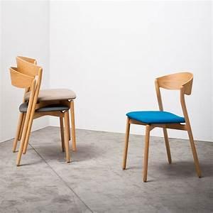 Chaise En Bois Massif : chaise empilable en bois massif tube chair arredaclick ~ Teatrodelosmanantiales.com Idées de Décoration