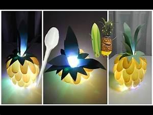 Idée Cadeau Avec Photo Faire Soi Meme : diy action veilleuse ananas id e cadeau d co a faire soi m me ~ Farleysfitness.com Idées de Décoration