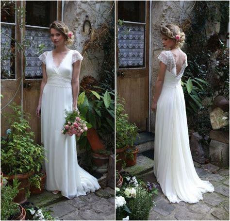 Robe Boheme Mariage Robe De Mari 233 E Boh 232 Me Romantique Par Elsa Gary The Dress Mariage Elsa And Robes