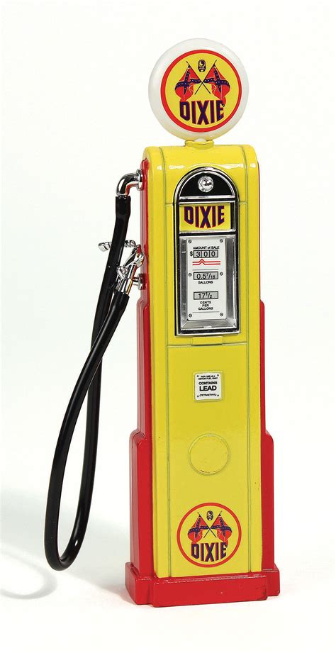 Die Cast Model Tn vintage digital gas dixie 1 18 die cast model