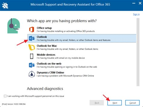 Office 365 Outlook Troubleshooting Tool by How To Use Office 365 S Troubleshooting Tools To Fix