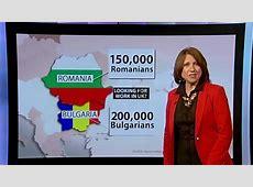 Bulgaria Romania The BBC Daily Politics show mixed the