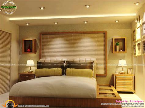 master bedrooms interior decor kerala home design  floor plans
