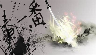 Calligraphy Artistic Desktop Japanese Wallpapers Background Japan
