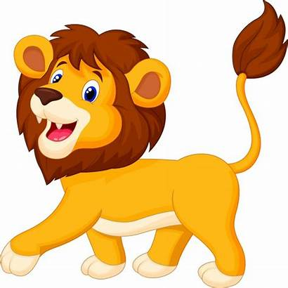 Lion Lions Hunting Cartoon Hunters Animals Dangerous