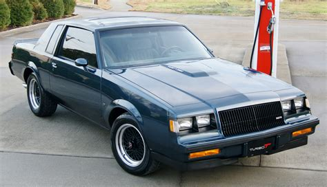3 compartment with hand fs ft 1987 buick regal turbo t type 59k miles mild
