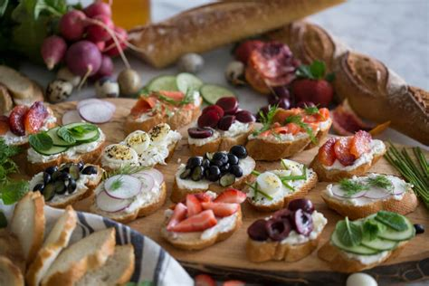 traditional canapes easy canapés preppy kitchen