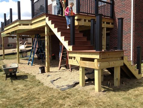 All of our deck railing, porch railing and stair railing systems, are national building code approved for all commercial and residential applications. Deck Stair Railing Code Requirements | Home Design Ideas