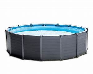 Piscine Intex Hors Sol : piscine hors sol intex les piscines rondes ~ Dailycaller-alerts.com Idées de Décoration