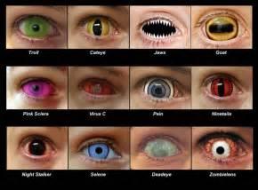 Cool Eye Contact Lenses