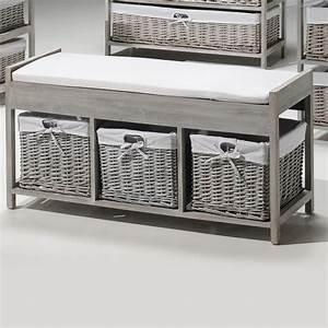 Panier De Rangement Salle De Bain : meuble de rangement avec panier en osier 1 meuble salle ~ Dailycaller-alerts.com Idées de Décoration