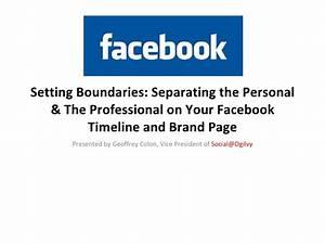 Facebook Speech for Mediabistro: Separating the personal ...