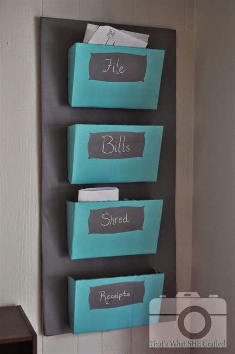 creative practical diy mail organizer ideas