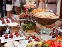 food  buffet displays images  pinterest