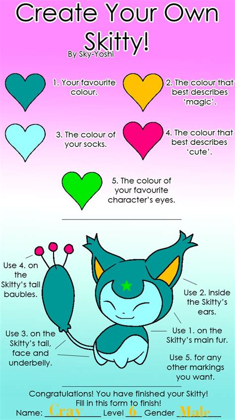 How To Create Your Own Meme - create your own skitty meme by wittybear93 on deviantart