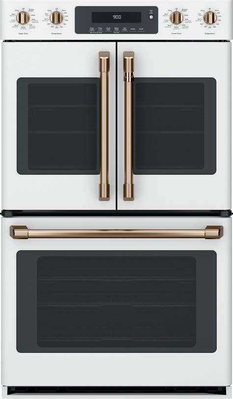 ctdfpmw cafe   double french door oven convection matte white
