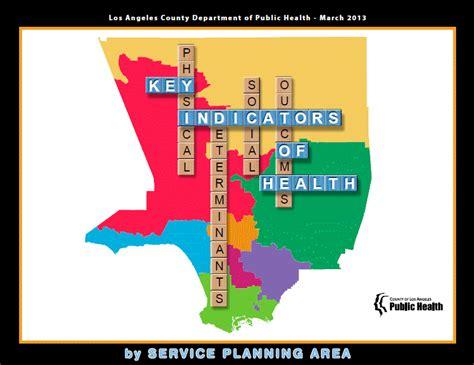 la county department of health report