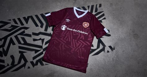 umbro launch hearts  home shirt soccerbible