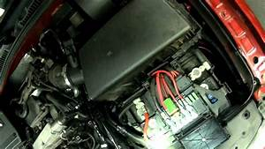 Vw A4  1 8t Engine Coolant Temperature Sensor Replacing