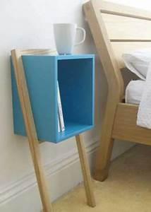 Table De Nuit Haute : 10 id es r cup pour faire une d co de chambre au top ~ Teatrodelosmanantiales.com Idées de Décoration