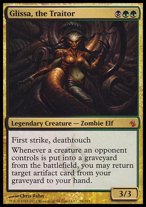 glissa the traitor magic the gathering card info