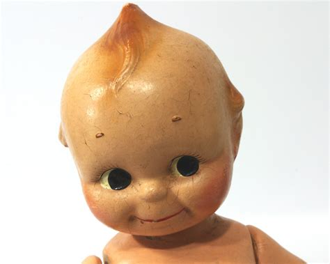 vintage kewpie doll composition doll 1930s rose o neill