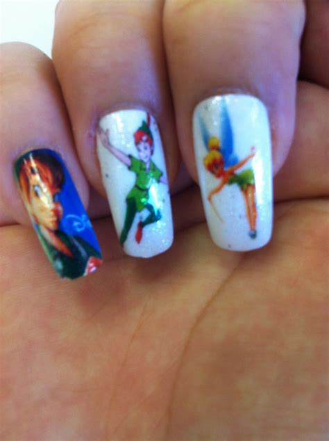 lovely cartoon themed nails   week pretty designs