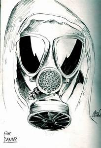 The best free Gasmask drawing images. Download from 27 ...