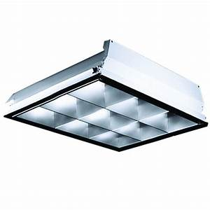 lithonia 2x2 parabolic troffer 9 cell 2 lamp 32w t8 u With 2 lamp t8 light fixtures