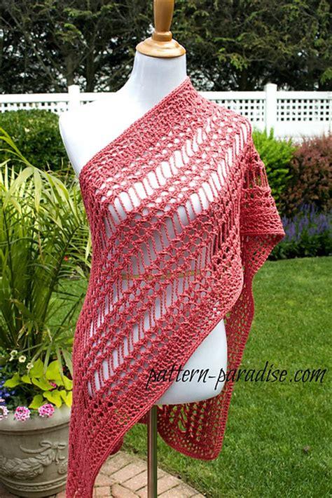 crochet patterns galore  stitch summer wrap