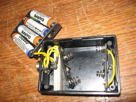 Хлор алюминиевая батарейка с белизной