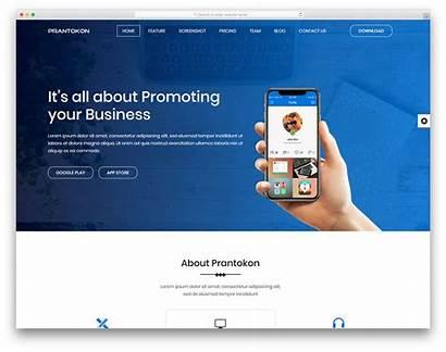 Template Website Templates Landing Bootstrap Business Colorlib