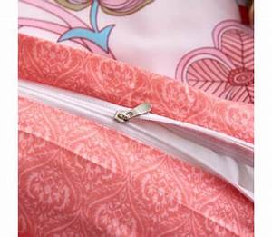 Bettwäsche 200x200 Rosa : vidaxl 3 tlg bettw sche set blumen streifen 200x200 60x70 cm rosa g nstig kaufen ~ Frokenaadalensverden.com Haus und Dekorationen