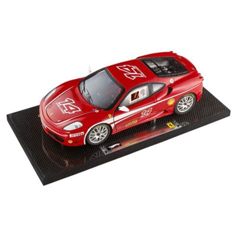 From the back of the 2010 hw racing card: Hot Wheels Super Elite Ferrari F430 Challenge 1/18th (K4146)
