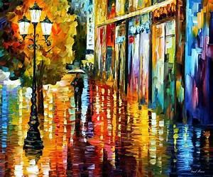 Modern impressionism palette knife oil painting kp126 ...